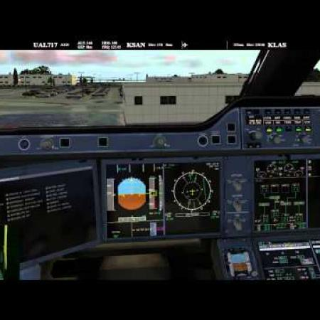 FlightFactor A350 XWB for X-Plane 10 Cold & Dark on PilotEdge with commentary